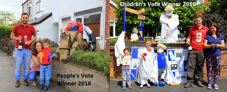 2016 Peoples and Childrens vote winners